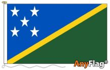 SOLOMON ISLANDS ANYFLAG RANGE - VARIOUS SIZES